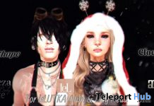 Cloe & Noah Shape Christmas Special Edition December 2020 Gift by KittyGoudo - Teleport Hub - teleporthub.com