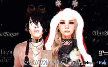 Cloe & Noah Shape Christmas Special Edition December 2020 Gift by KittyGoudo - Teleport Hub - teleporthub.com