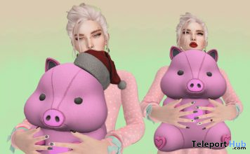 Pig Plush 10L Promo by Prado - Teleport Hub - teleporthub.com