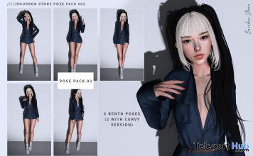 Pose Pack 02 10L Promo by Bourbon Store - Teleport Hub - teleporthub.com