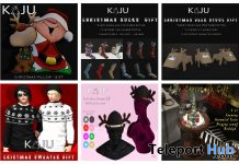 Several Christmas 2020 Group Gifts by KAJU - Teleport Hub - teleporthub.com
