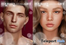 Alain & Lilly Mesh Heads Evolution Line December 2020 Group Gift by LeLUTKA - Teleport Hub - teleporthub.com