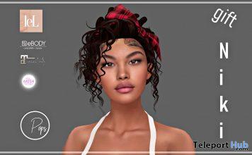 Niki Shape Lelutka Lilly Head December 2020 Gift by Pops Store - Teleport Hub - teleporthub.com