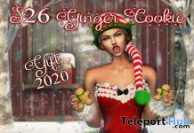 Ginger Cookie & Pose December 2020 Group Gift by S26 Poses - Teleport Hub - teleporthub.com