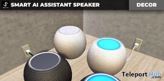 New Release: Smart AI Assistant Speaker by [satus Inc] - Teleport Hub - teleporthub.com