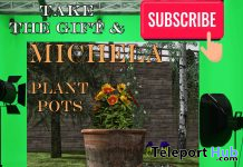 Michela Plant Pots December 2020 Subscriber Gift by Quality Gardens - Teleport Hub - teleporthub.com
