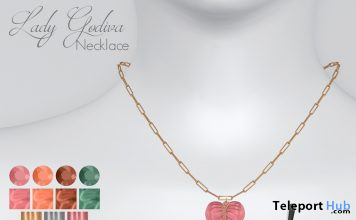 Lady Godiva Necklace January 2021 Group Gift by Livido - Teleport Hub - teleporthub.com