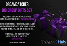Big 27 Group Gifts Set January 2021 Group Gift by Dreamcatcher - Teleport Hub - teleporthub.com