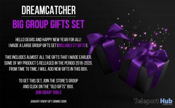 Big 27 Group Gifts Set January 2021 Group Gift by Dreamcatcher - Teleport Hub - teleporthub.com