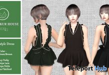 New Release: Apron Style Dress by Korpokkur House @ Sense Event January 2021 - Teleport Hub - teleporthub.com
