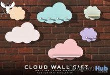 Cloud Wall January 2021 Group Gift by MUSU - Teleport Hub - teleporthub.com