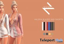 New Release: Valeria Blazer and Shorts by NAWE @ WIP Event January 2021 - Teleport Hub - teleporthub.com