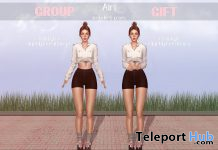 Airi Poses January 2021 Group Gift by micamee - Teleport Hub - teleporthub.com