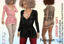 Gloria Dress With Optional Leggings Fatpack January 2021 Group Gift by adorsy - Teleport Hub - teleporthub.com