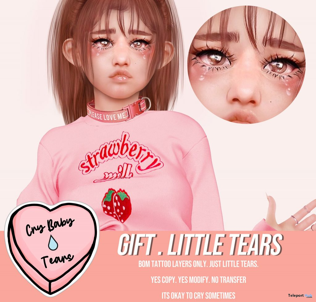 Little Tears January 2021 Group Gift by CryBabyTears - Teleport Hub - teleporthub.com