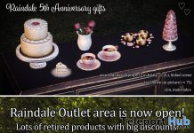 Assorted Decor & Props 5th Anniversary Group Gift by Raindale - Teleport Hub - teleporthub.com