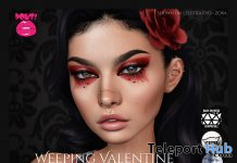 Weeping Valentine Eyeshadow January 2021 Group Gift by POUT! - Teleport Hub - teleporthub.com