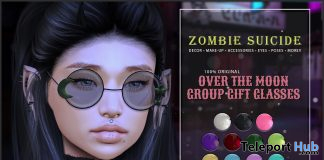 Over The Moon Glasses Fatpack January 2021 Group Gift by Zombie Suicide - Teleport Hub - teleporthub.com