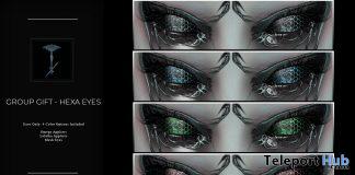 Hexa Eyes January 2021 Group Gift by Nefekalum Tattoos - Teleport Hub - teleporthub.com