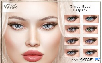 Grace Eyes BOM Fatpack January 2021 Group Gift by Tville - Teleport Hub - teleporthub.com
