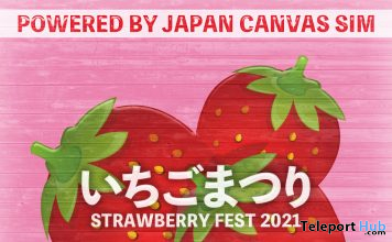 IchigoMatsuri Strawberry Fest 2021 - Teleport Hub - teleporthub.com