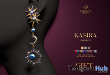 Kasira Earrings January 2021 Group Gift by Romazin Jewelry - Teleport Hub - teleporthub.com