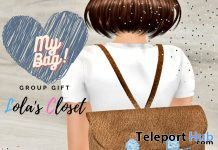 My Bag Leather & Jean January 2021 Group Gift by Lola's Closet - Teleport Hub - teleporthub.com