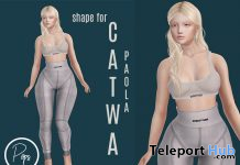 Paola Shape For Catwa Mesh Head January 2021 Gift by Pops Store - Teleport Hub - teleporthub.com