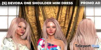 New Release: Devora One Shoulder Mini Dress by [satus Inc] - Teleport Hub - teleporthub.comNew Release: Devora One Shoulder Mini Dress by [satus Inc] - Teleport Hub - teleporthub.com