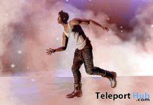 Away Like The Wind Single Male Pose January 2021 Group Gift by *AAP* - Teleport Hub - teleporthub.com