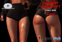 Fck January BOM Tattoo January 2021 Group Gift by Moonlight Inside Tattoo Studio - Teleport Hub - teleporthub.com