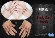 Bloody Bone Knuckles January 2021 Group Gift by DIABLITO - Teleport Hub - teleporthub.com
