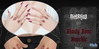 Bloody Bone Knuckles January 2021 Group Gift by DIABLITO - Teleport Hub - teleporthub.com