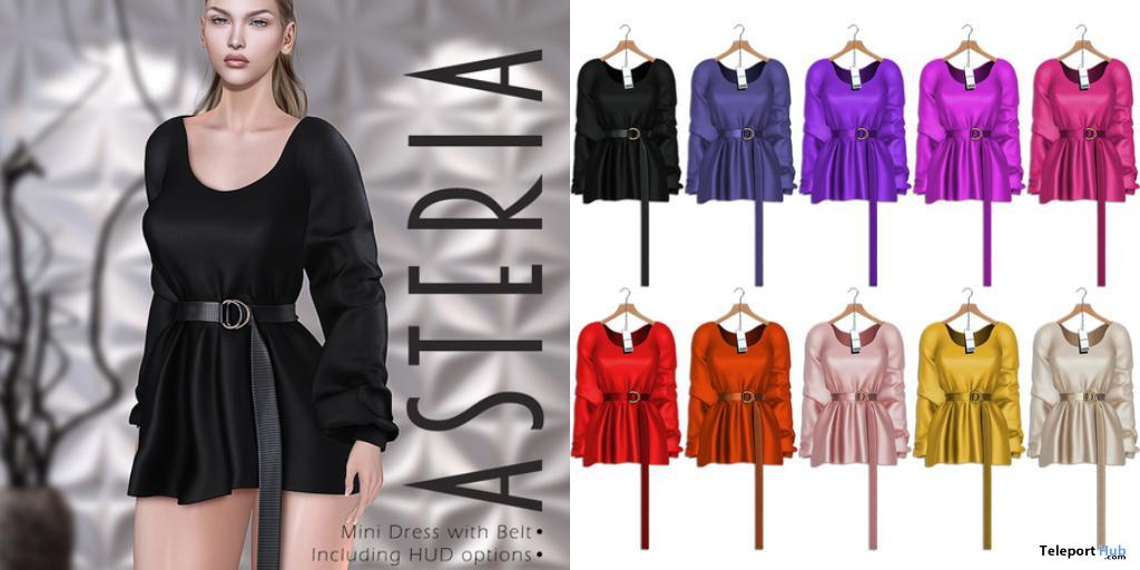 Lou Mini Dress Fatpack January 2021 Gift by Asteria - Teleport Hub - teleporthub.com