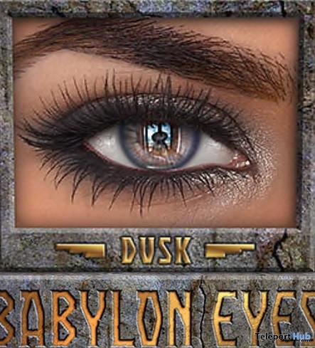 Babylon Eyes Dusk With Appliers January 2021 Group Gift by IKON - Teleport Hub - teleporthub.com