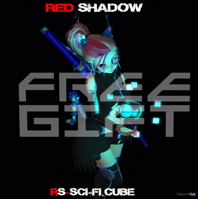 Sci-fi Cube Typing Effect January 2021 Group Gift by Red Shadow - Teleport Hub - teleporthub.com
