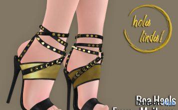 Bea Heels January 2021 Group Gift by Hola linda! Store - Teleport Hub - teleporthub.com