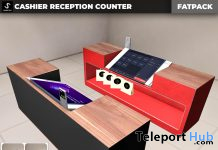 New Release: Cashier Reception Counter by [satus Inc] - Teleport Hub - teleporthub.com