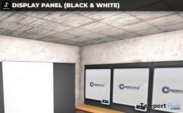 New Release: Display Panel Black & White by [satus Inc] - Teleport Hub - teleporthub.com