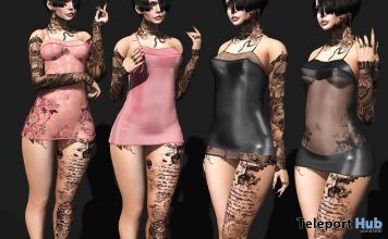 New Release: Baddie Mini Dress by small @ WIP Event February 2021 - Teleport Hub - teleporthub.com