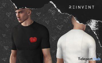 Be Mine T-shirt 1L Valentine Promo Gift by REINVENT - Teleport Hub - teleporthub.com