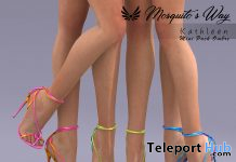 Kathleen Heels Ombre Mini Pack February 2021 Group Gift by Mosquito's Way - Teleport Hub - teleporthub.com