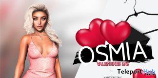 Elliana Dress Valentines February 2021 Group Gift by OSMIA - Teleport Hub - teleporthub.com
