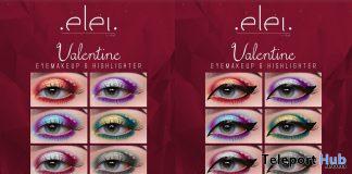 Valentine Eyemakeup & Highlighter February 2021 Group Gift by Elei - Teleport Hub - teleporthub.com