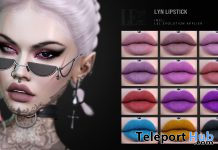 Lyn Lipstick Pack For Lelutka Evolution Heads February 2021 Group Gift by LePunk - Teleport Hub - teleporthub.com