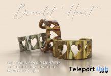 Heart Bracelet February 2021 Group Gift by Phy.Ka - Teleport Hub - teleporthub.com