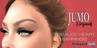 Tribales Heart Earrings February 2021 Group Gift by JUMO Originals - Teleport Hub - teleporthub.com