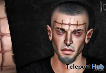 The Antichrist BOM Forehead Scarification February 2021 Group Gift by CerberusXing - Teleport Hub - teleporthub.com