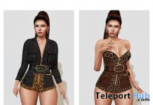 Yareli Outfit February 2021 Group Gift by [WellMade] - Teleport Hub - teleporthub.com