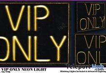 VIP Only Neon Light February 2021 Group Gift by NinaX - Teleport Hub - teleporthub.com